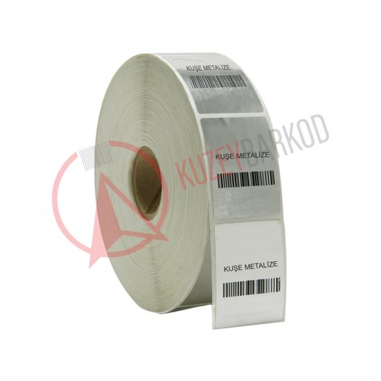Coated Metallized Label
