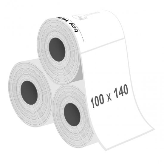 100 x 140 mm Fastyre Etiket - Sticker