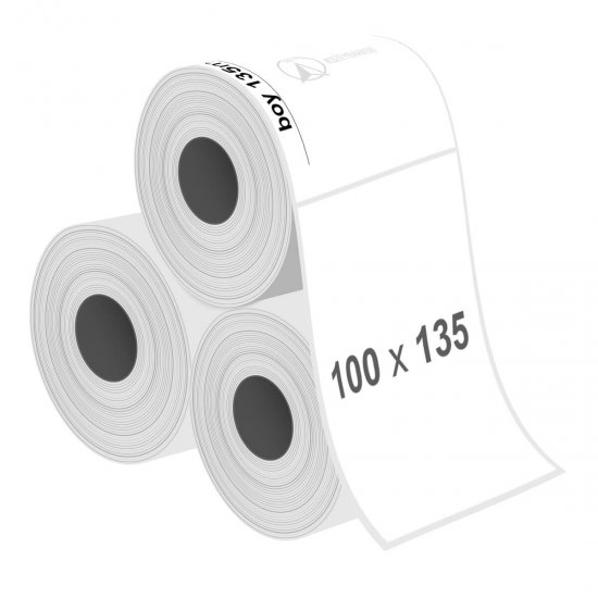 100 x 135 mm Fastyre Etiket - Sticker